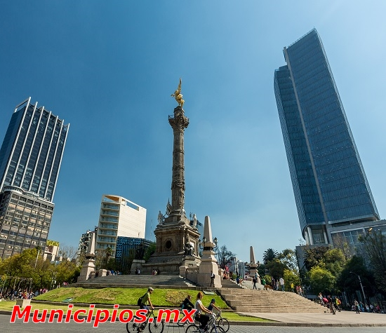 Angel de Independencia en Ciudad de Mexico